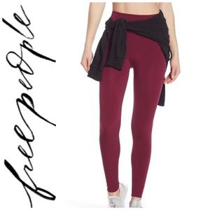 Free People High Waisted Sculpt Leggings